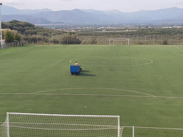 Ανακαινίσεις στα περιφερειακά γήπεδα του Δήμου Ναυπλιέων