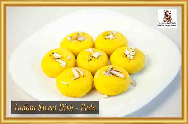 Indian Sweet Dishes - Peda