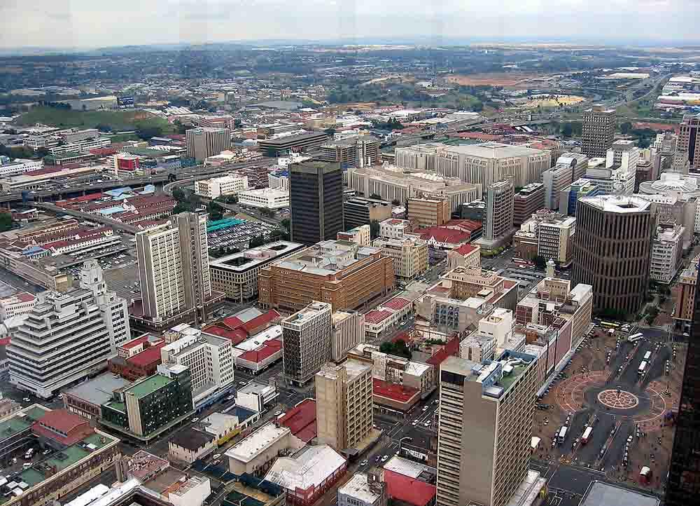 Johannesburgo, Maior Cidade da África do Sul