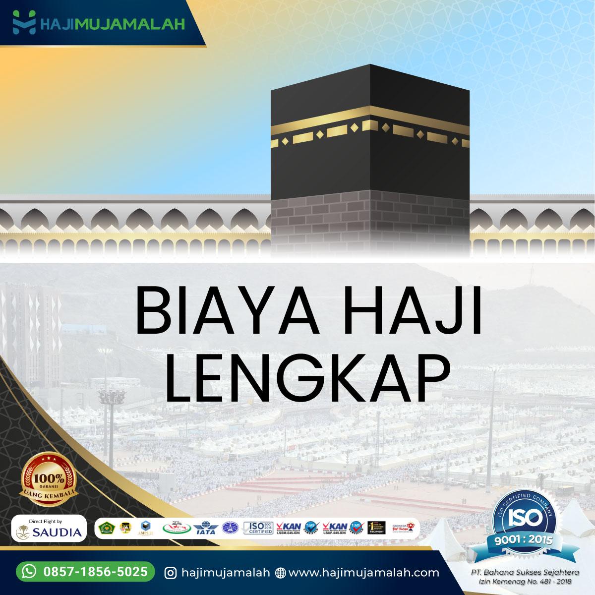 Biaya Haji 2022, Reguler, ONH Plus Dan Mujamalah Furoda