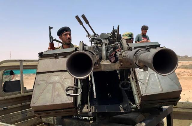 Tình báo Israel gặp con trai của tướng Libya Haftar