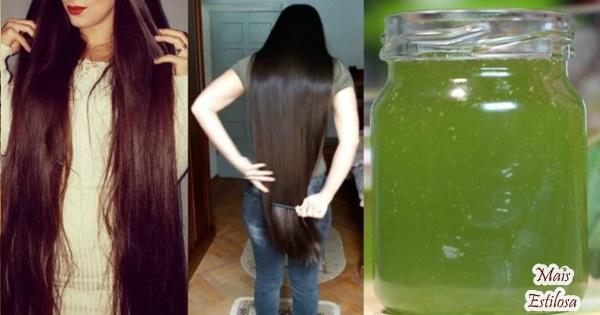 hidronutrição para o crescimento do cabelo