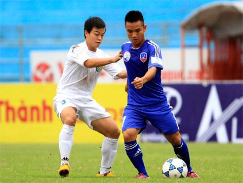 Cầu thủ Quảng Nam thực sự cố gắng để giành được mục tiêu đặt ra