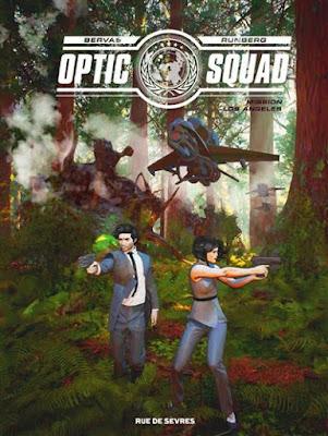 Optic Squad tome 2 Mission Los Angeles aux éditions Rue de Sèvres
