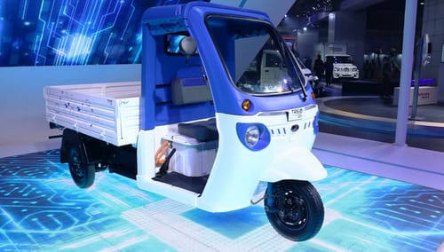 Amazon uses the Treo Zor electric vehicle for delivery