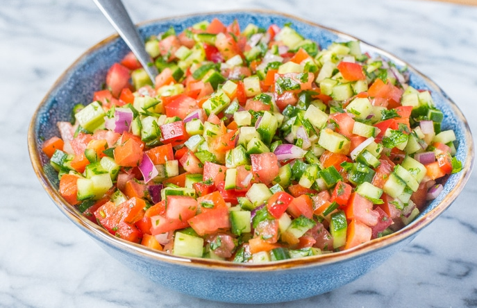 Israeli Salad Recipes