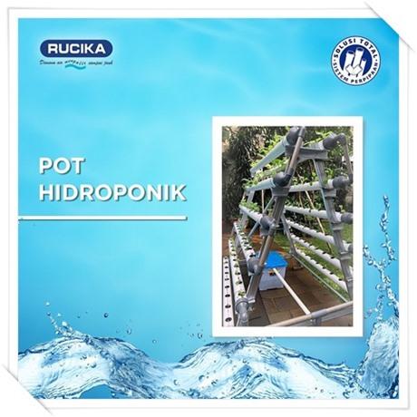 Pipa air Rucika Instalasi hidroponik