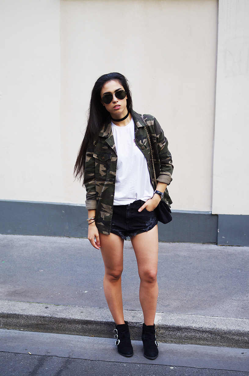 Elizabeth l Cute but psycho x denim shorts outfit l Brandy Melville Asos Forever21 l THEDEETSONE l http://thedeetsone.blogspot.fr