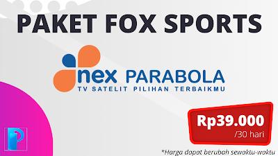Paket FOX Sports Nex Parabola
