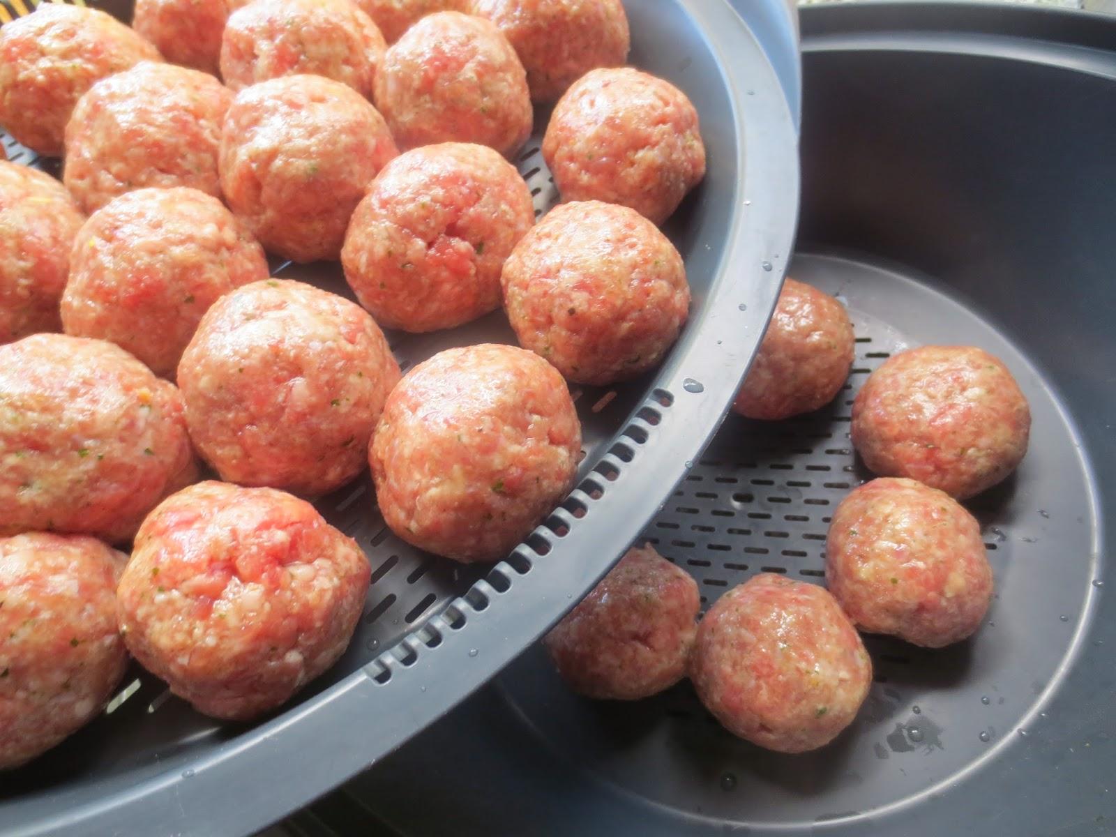 Albóndigas en salsa de tomate Thermomix