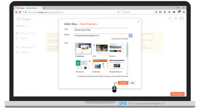 Cara Membuat Blog Gratis di Platform Blogger