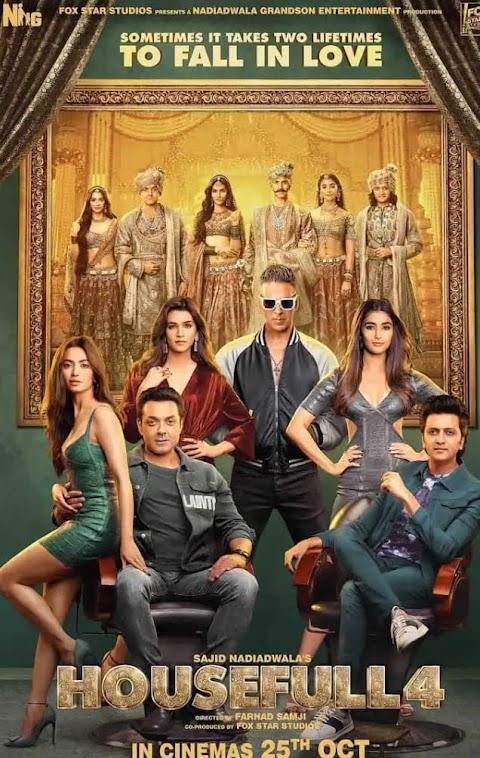 Download Housefull 4 (2019) Hindi  720p & 480p HD x264 Free Download