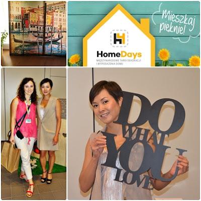 Targi HOME DAYS z Natalią Nguyen -zobaczcie jak było i co kupiłam!