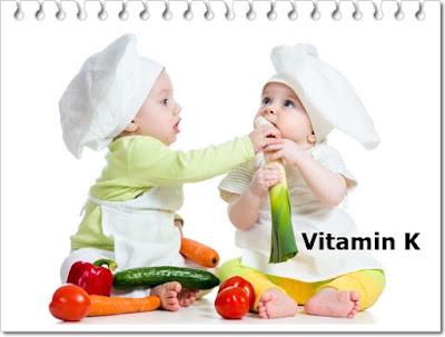 Fungsi Vitamin K Bagi Tubuh Bayi