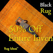 Rug Sale 50% Off Black Friday and Saturday