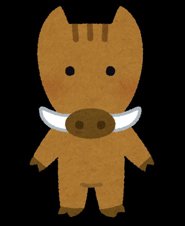 猪のキャラクター 日本今日