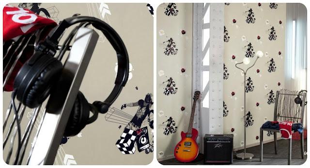 młody muzyk - pokój