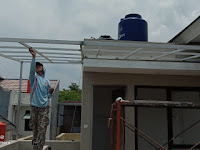 Pemasangan Kanopi Polycarbonat di Parung ,Bogor