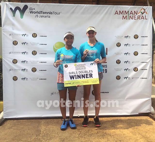 ITF Amman Mineral International Junior Championships 2019: Janice Tjen Juara