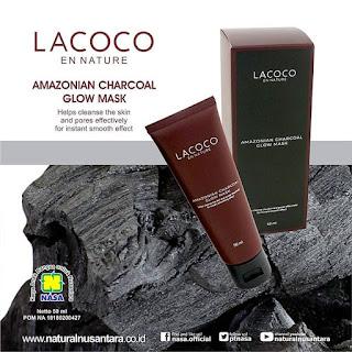 Amazonian Charcoal Glow Mask (Masker Lumpur)