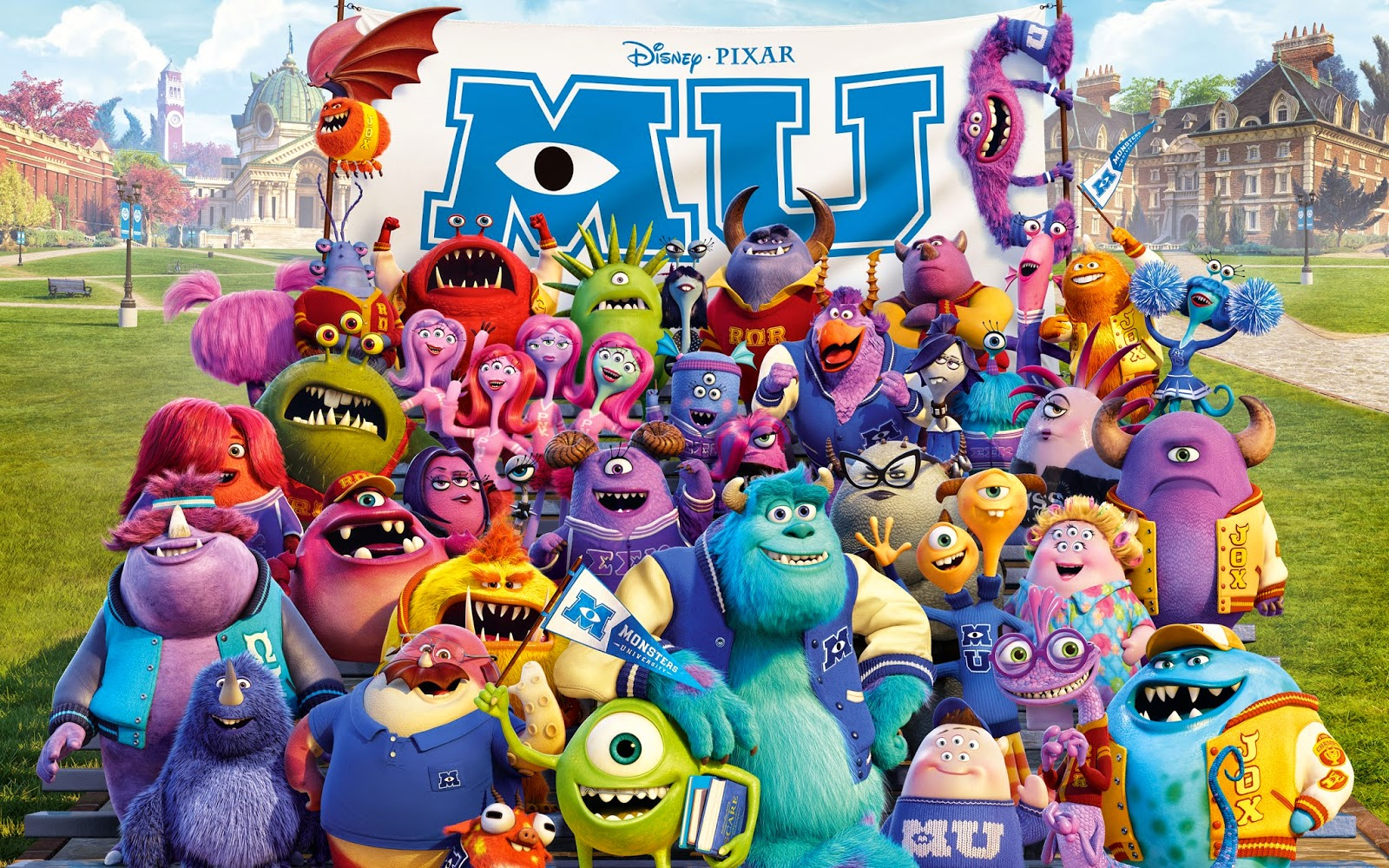 Monsters University student life