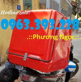 Thùng giao hàng gắn sau xe máy, thùng chở hàng nhựa composite L%25E1%25BB%259Bn