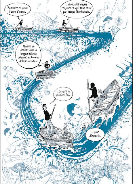 """page de """"Rivière d'encre"""" de Etienne Appert chez la Boîte à bulles"""