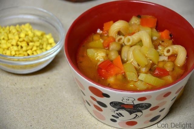 מרק מינסטרונה minestrone soup
