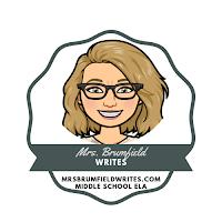www.mrsbrumfieldwrites.com Blog Logo