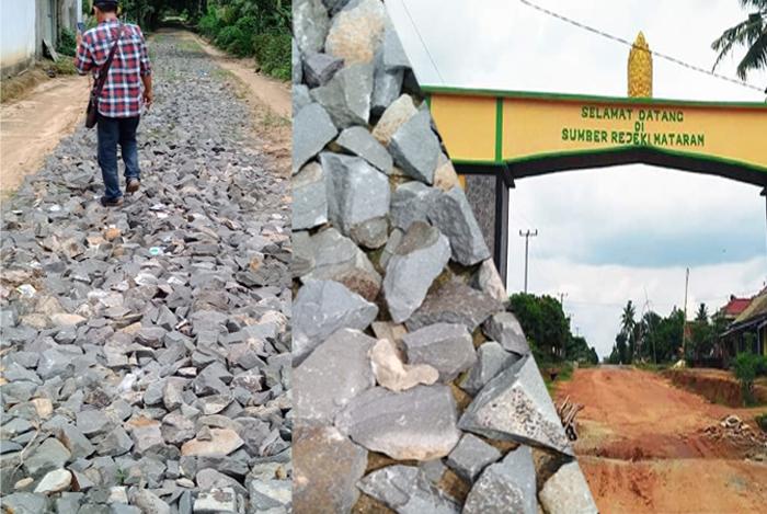 Pelaksanaan Dana Desa Sumber Rejeki Amburadul, Diduga Kongkalingkong Pendamping Kecamatan