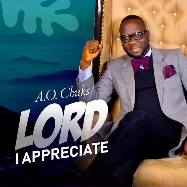 [Music] Lord I Appreciate - A.O. Chuks