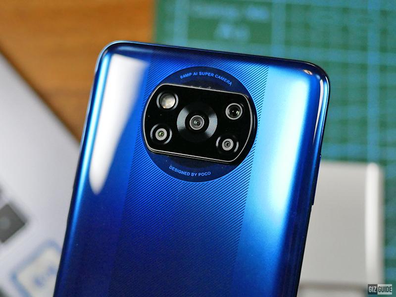 POCO X3 NFC quad-cameras