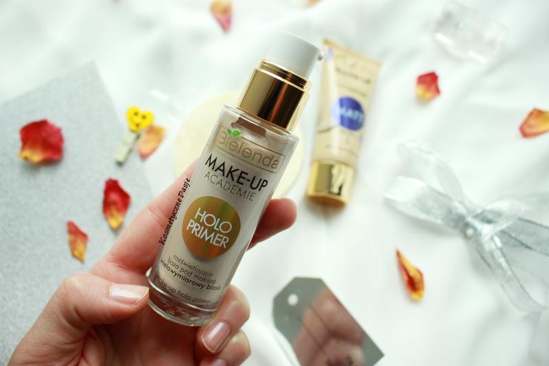 holograficzna baza pod makijaż