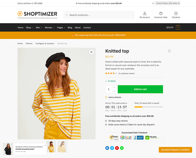 Shoptimizer - Theme WordPress đẳng cấp nhất
