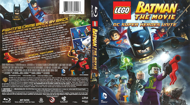 LEGO Batman The Movie DC Super Heroes Unite Bluray Cover