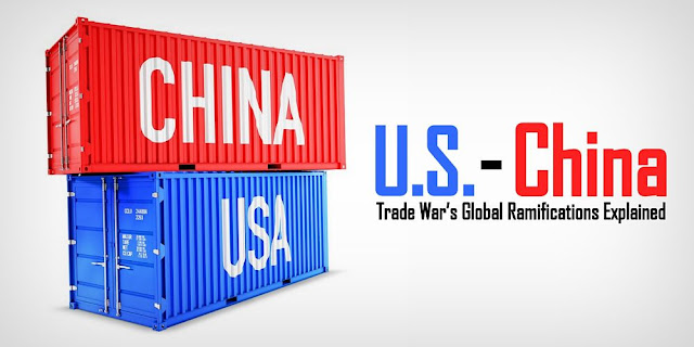 Image: Two containers labeled China and USA respectively/ Source: freeGraphicToday/Pixabay.com / Creative Commons 0