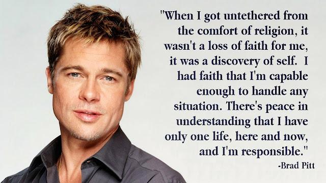 Brad Pitt Top Quotes