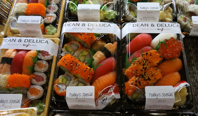 You can buy just about any food at Dean & Deluca