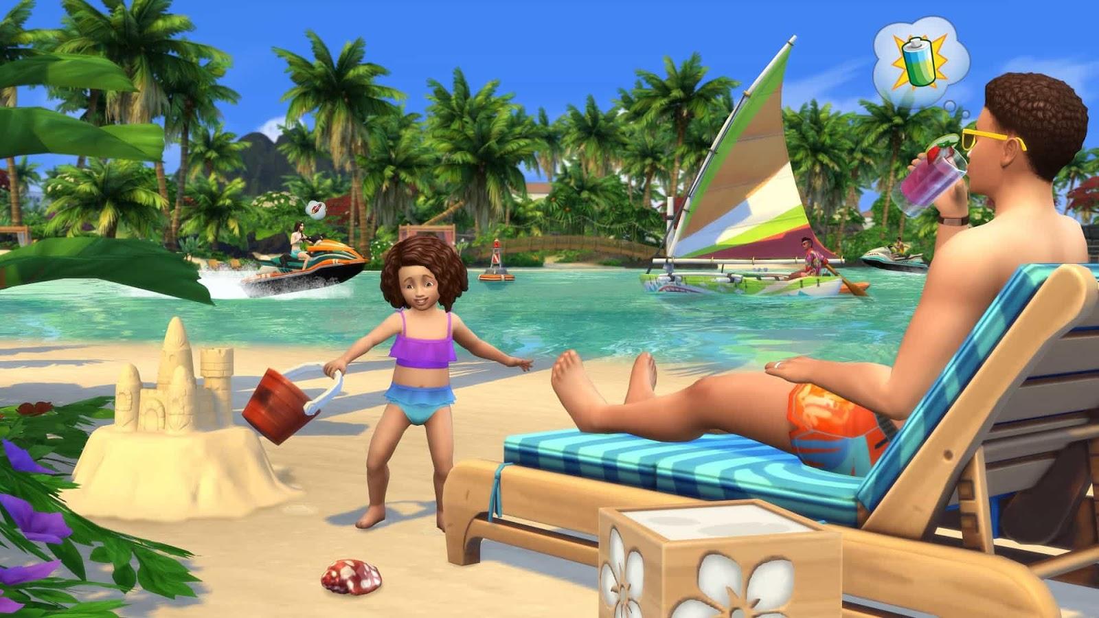 password The Sims 4 PC
