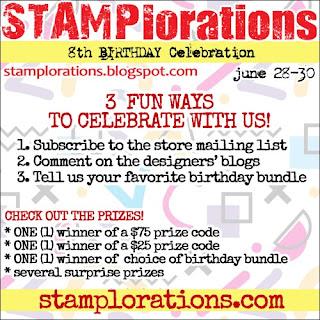 STAMPlorations Birthday post