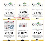 Schesir : scarica 6 buoni sconto per prodotti cani e gatti ( risparmi € 25,60)