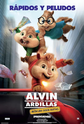 Alvin and the Chipmunks: The Road Chip [2015] [DVD R1] [Latino]