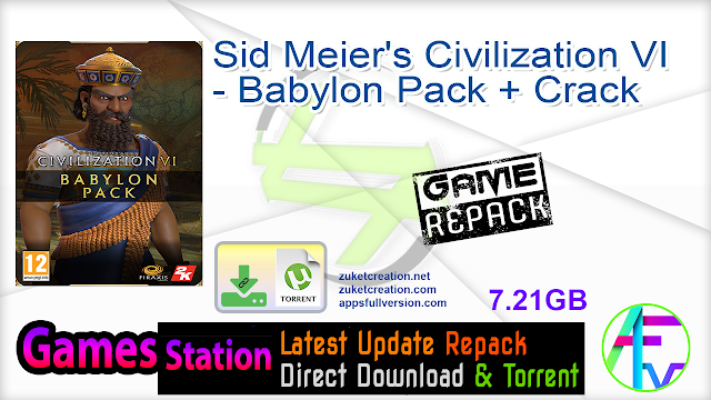 Sid Meier's Civilization VI – Babylon Pack + Crack