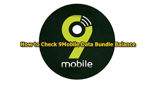 USSD code for 9Mobile (Etisalat)  internet data bundle subscription Balance