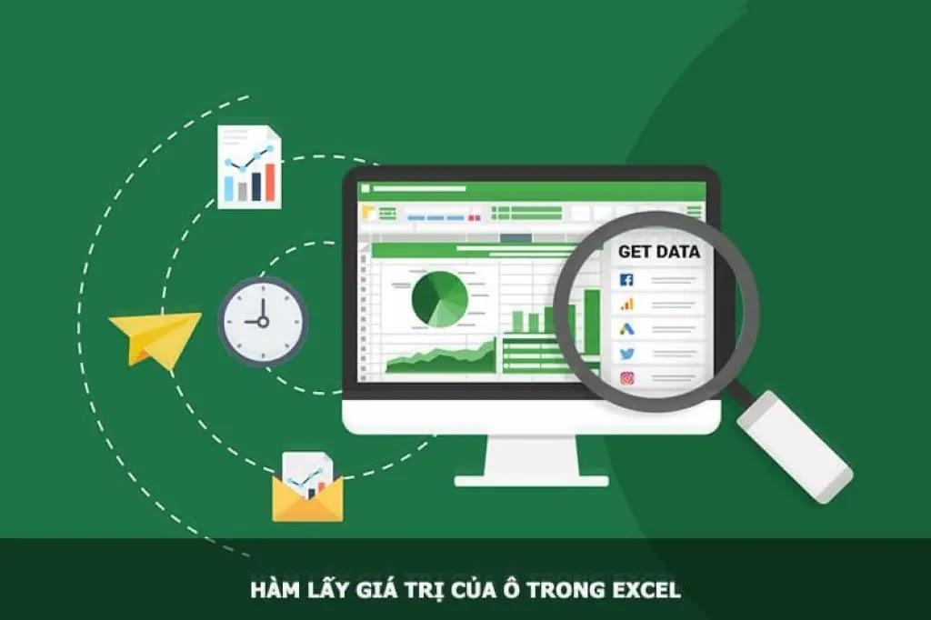 Hàm lấy giá trị của ô trong Excel (hàm INDIRECT)