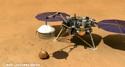 NASA's InSight Mars lander