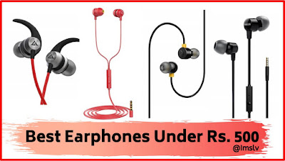 best 500 rupees earphones India