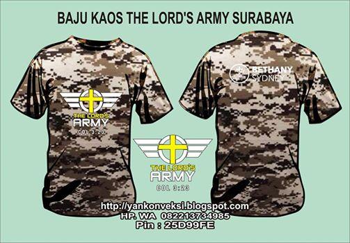 BAJU  LORENG LOR'S ARMY SURABAYA