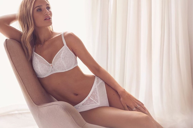 Rosie Huntington-Whiteley for Autograph Lingerie Summer 2019 Campaign