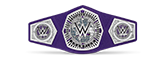 WWF Cruiserweight title belt championship design